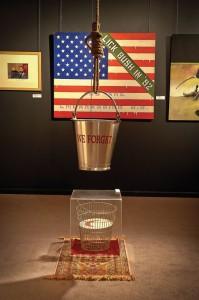 Mixed media installation by Victor Gordon
