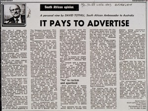 Detail - SA Government funded Propaganda Advertorials,