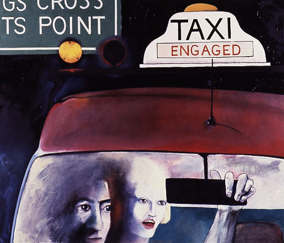 Engaged - 1990. Oil on canvas by Victor Gordon