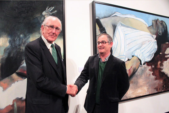 Victor Gordon and The Honorable Malcolm Fraser