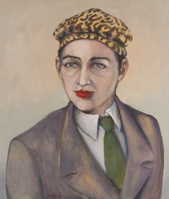 Painting by Victor Gordon of Elizabeth Campbell