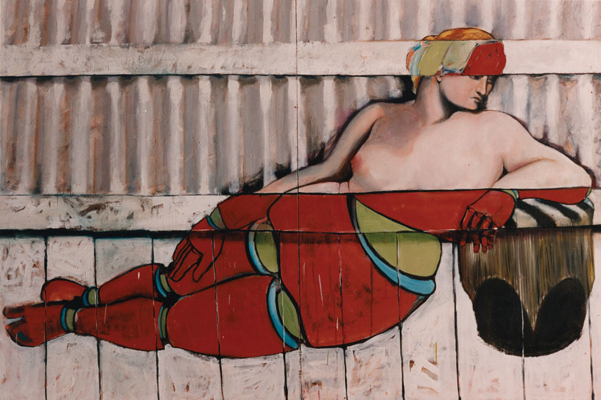 Venus (After Titian) 1993 - Painting by Victor Gordon