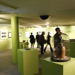 The exhibition continued upstairs