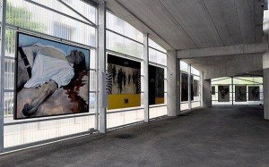Artworks By Victor Gordon on tour, France