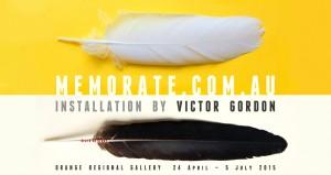 memorate.com.au promotional material