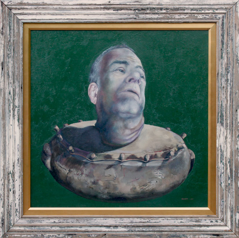 Portrait-of-the-artist-2013---The-Horseless-Headman
